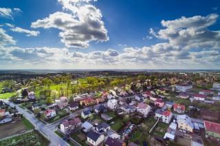 Landscape of suburbs, Sandomierz, PL