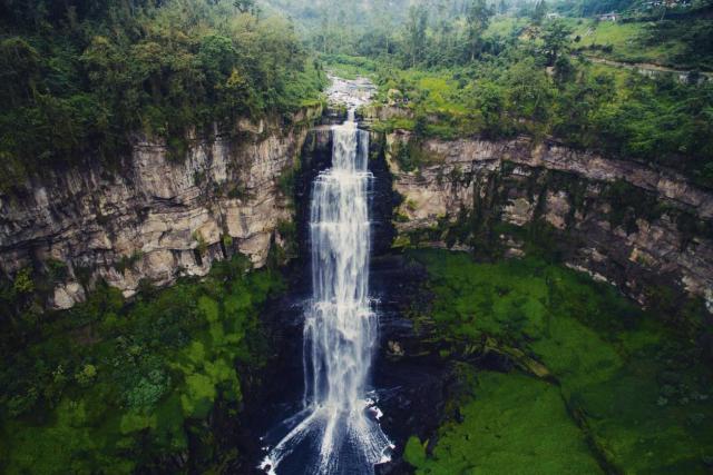 The hidden secrets of Tequendama Falls