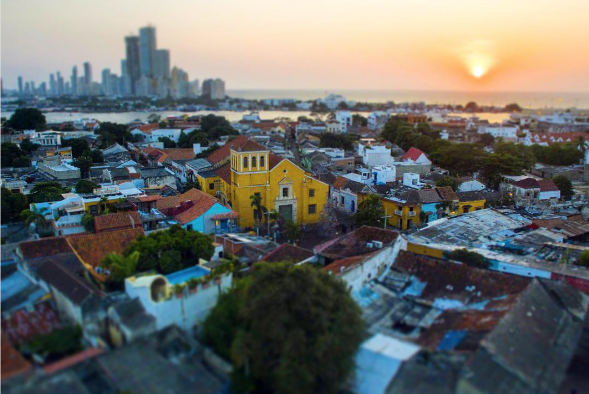 Sunset over Getsemani