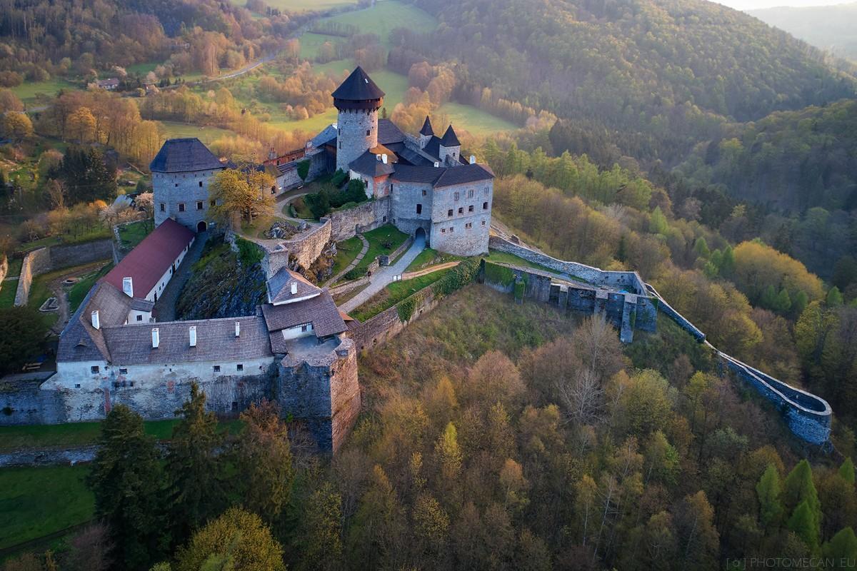Sovinec castle, Moravia,Czech republic.