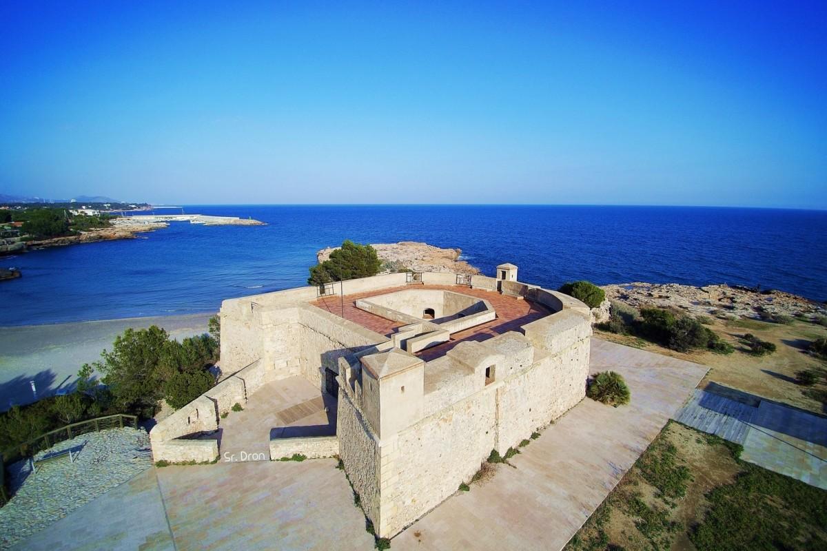 Castell de Sant Jordi d'Alfama.