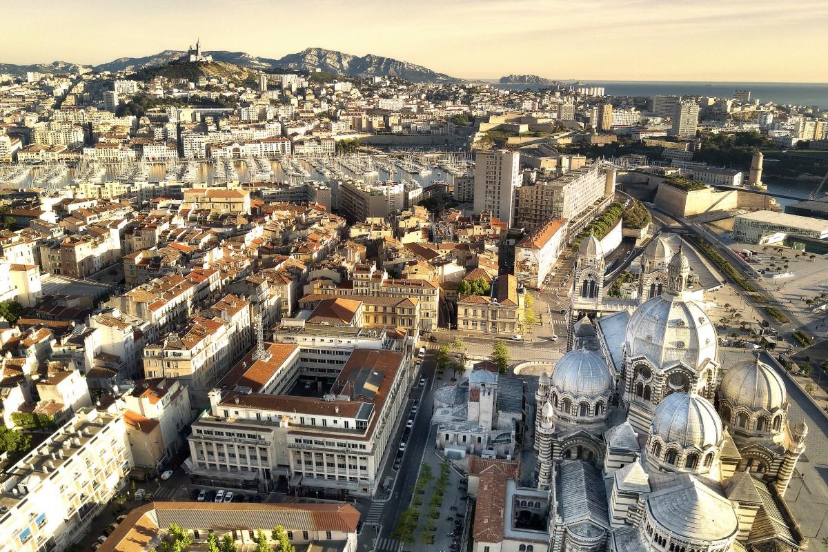 Marseille – la Cathédrale & le Vieux-port