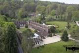 Abbaye des vaux de cernay par drone