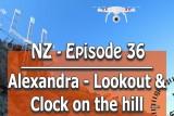 Alexandra, Clock on the Hill, South Island, New Zealand