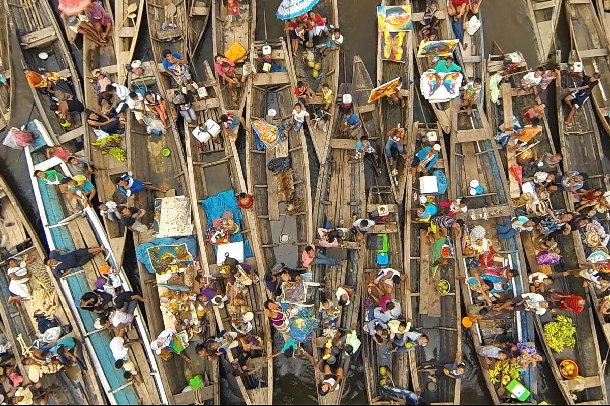 Vendors of Iquitos