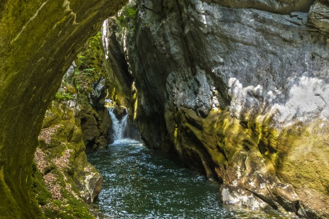 Gorge de l'Areuse (NE) (Suisse)