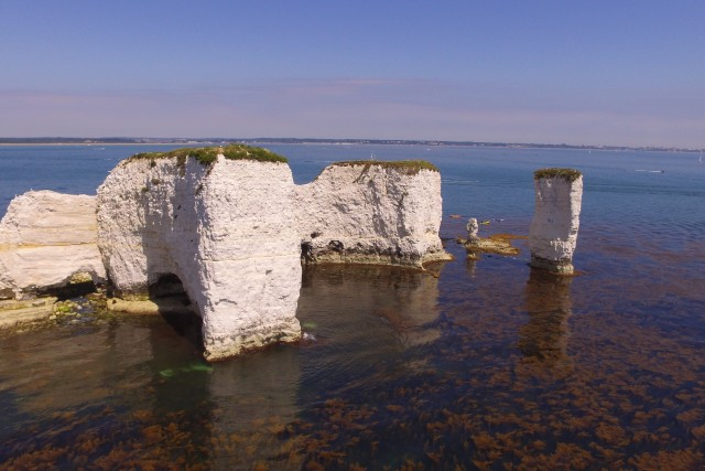 Old Harry Rocks dorset england