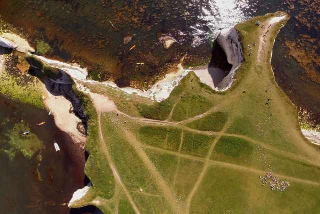 Studland peninsula