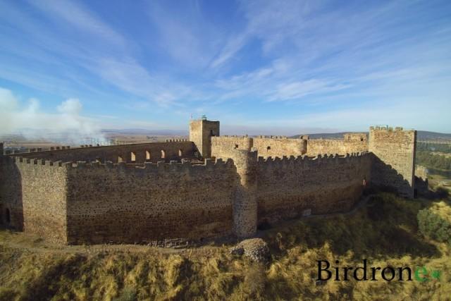 Birdroneando por los cielos de Extremadura. Spain..
