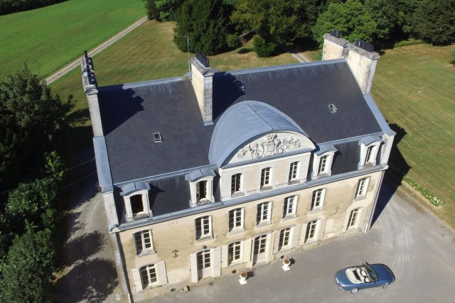 Le Bois Teilleul, country mansion in Brittany