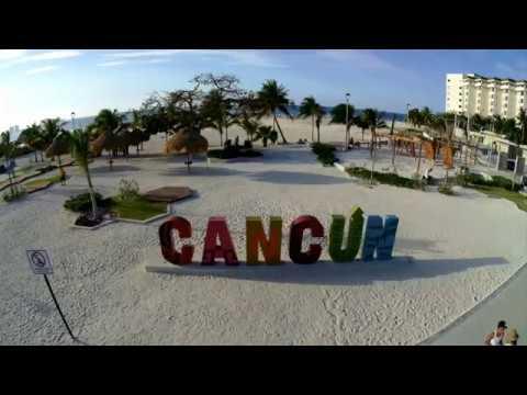 Cancun – Zona Hotelera – Vista de un Paraiso