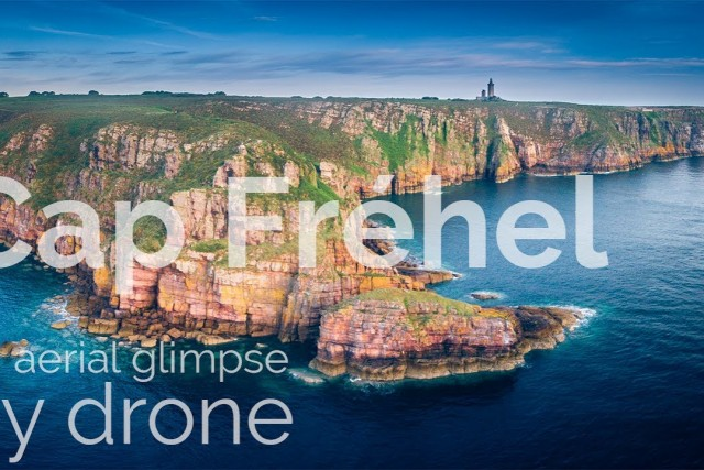 Cap Fréhel by Drone, Brittany, France