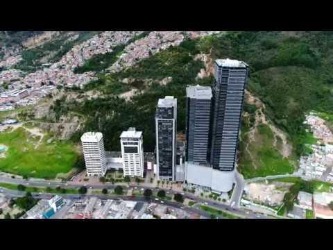 Dronie desde el edificio Torre Krystal – Bogotá