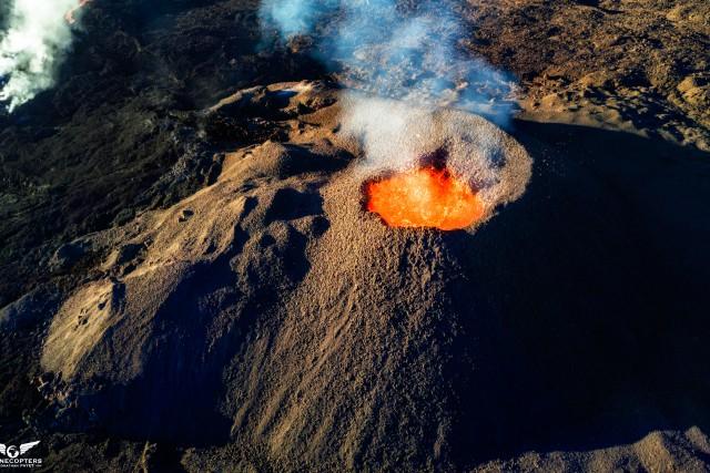 The cône, Piton de la Fournaise Volcano, Reunion island