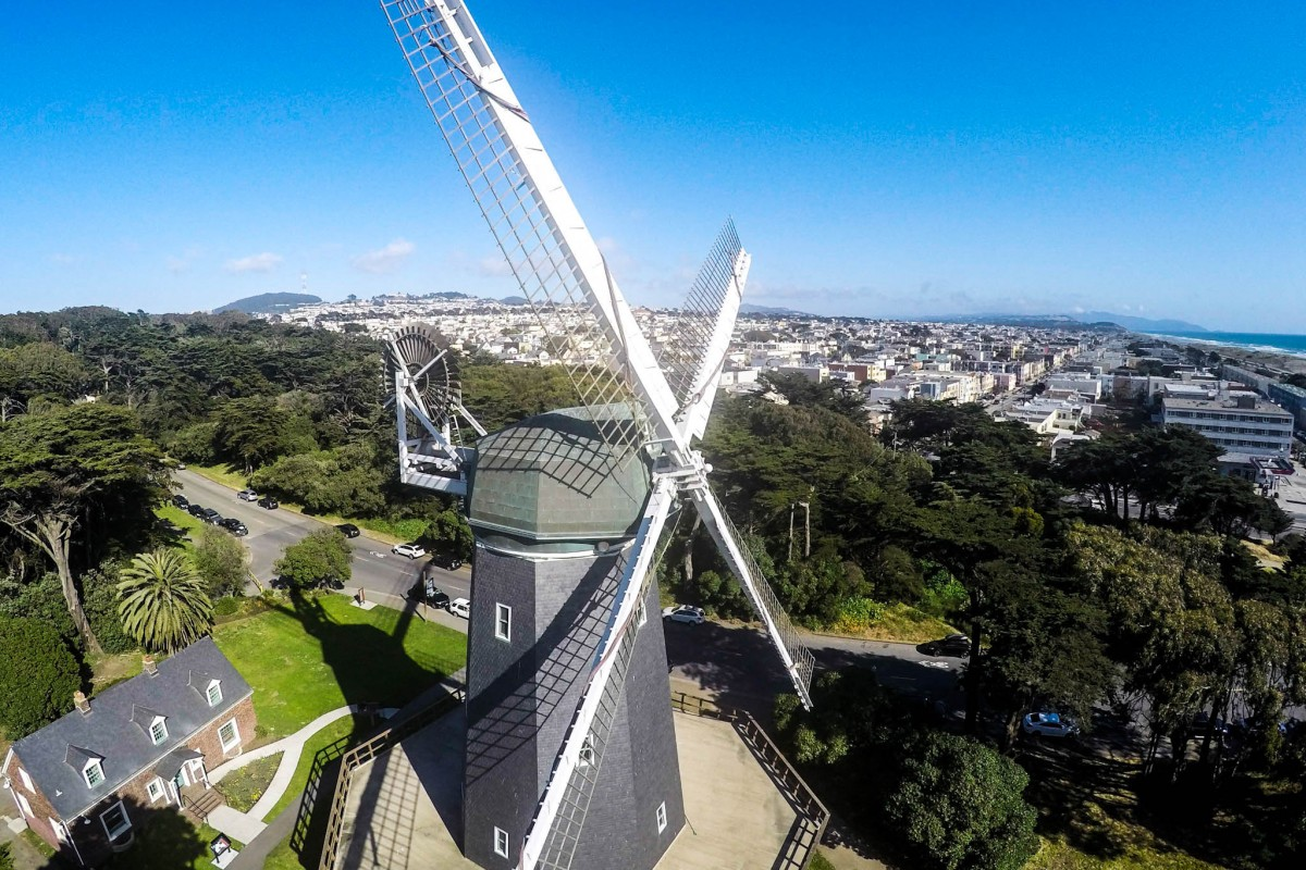 Murphy Windmill and Millwright Cottage, San Francisco, CA