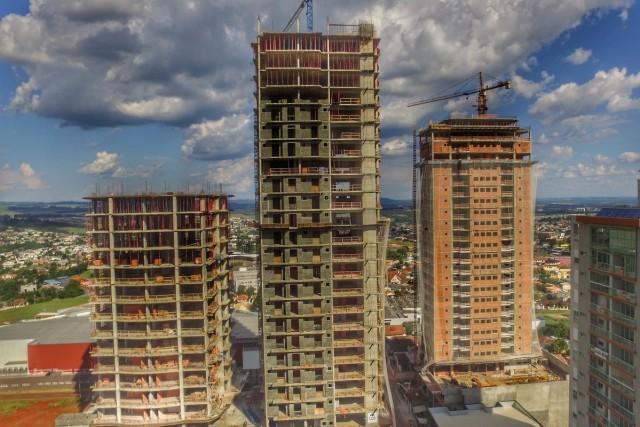 Edificios em Construção