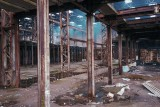 Old abandoned warehouses