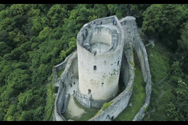 old castle in france
