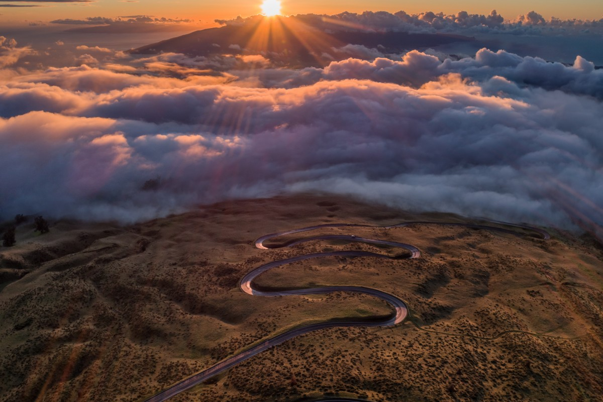 Haleakala Sunset II, Maui, Hawaii, USA