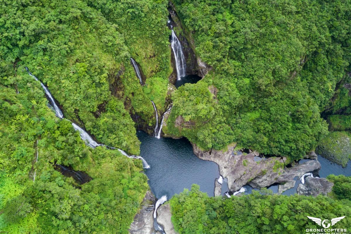 Takamaka waterfalls – Reunion island