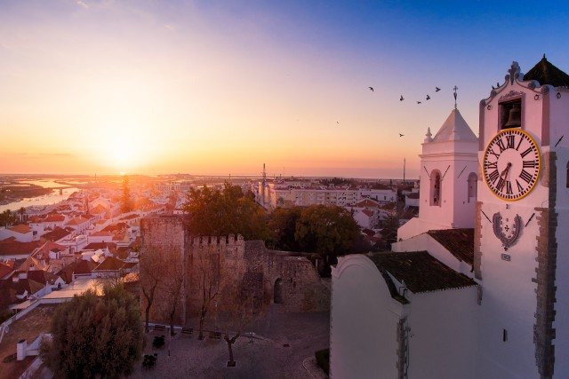 Sunrise on tavira