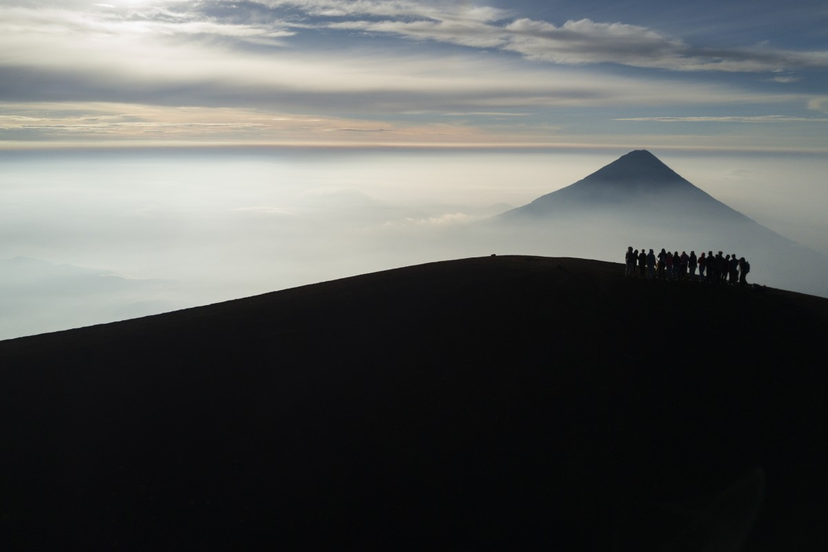 Volcán de Agua, Guatemala.
