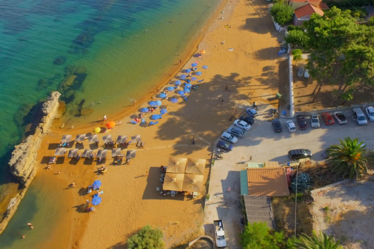 Lepeda beach , Lixouri , Kefalonia
