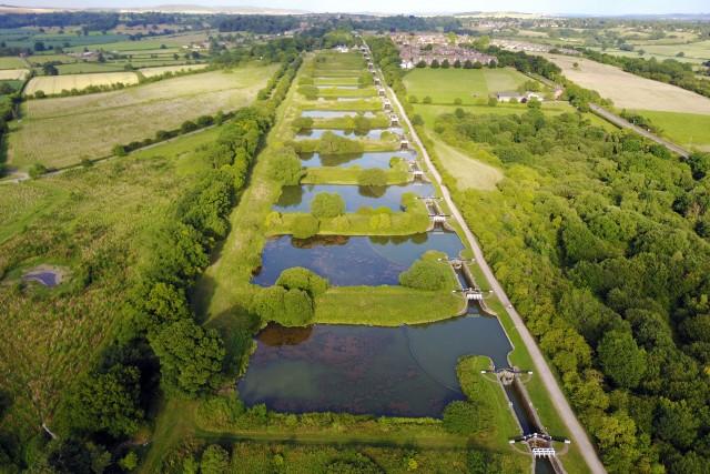 Caen Hill Canal Locks