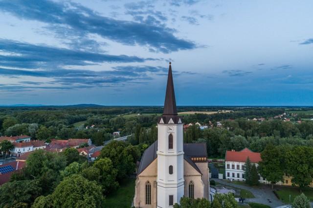 Church in SárosPatak