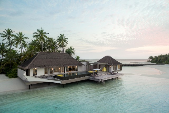 Maldivian resort
