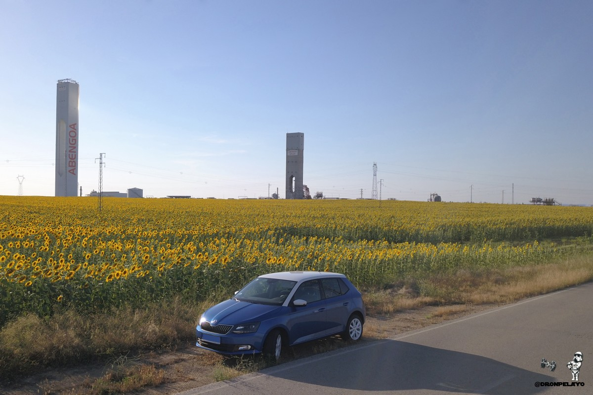 Solar plant SOLUCAR / Sevilla