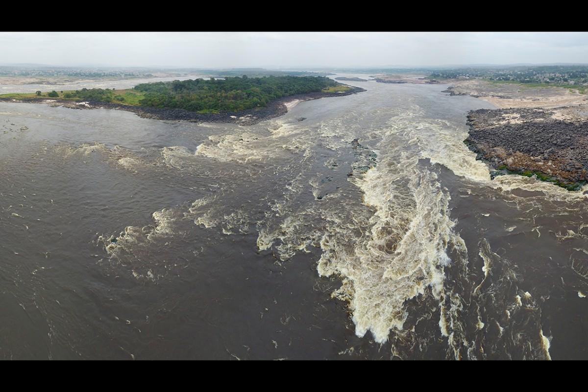 Les Cataractes, les rapides du fleuve Congo