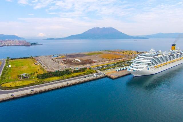 Marina Port , Kagoshima Japan