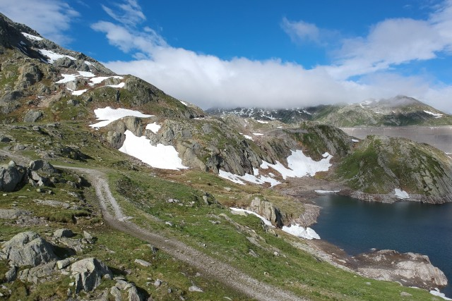 Black Lake, val Rovana Canton Ticino, Svizzera.