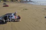 Playa Cheuque, Valdivia región de los ríos, Chile
