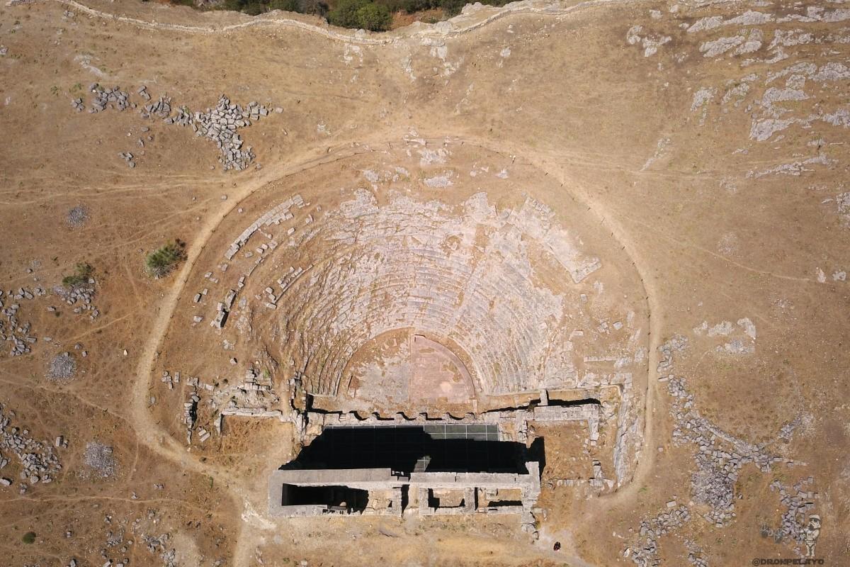 Acinipo, the roman ruins in Malaga, Spain