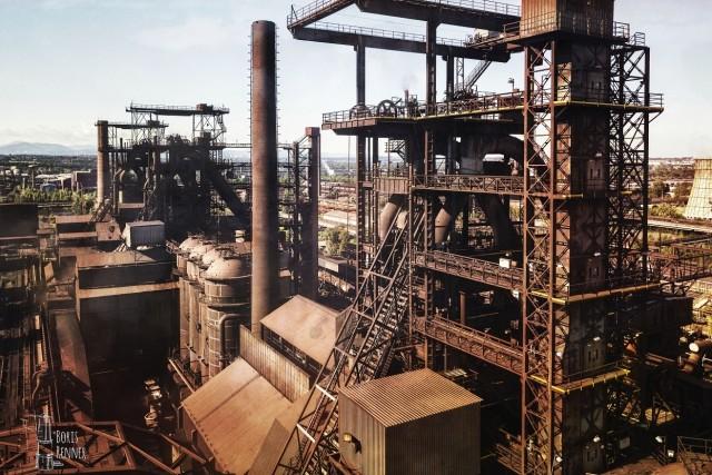 Blast furnace in Ostrava
