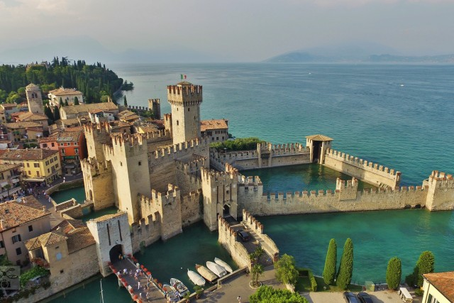 Scaligera castle (Garda lake – Italy)