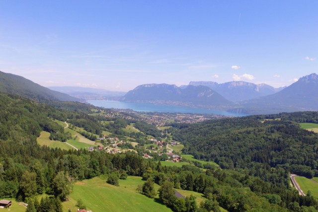 Lac d'Annecy vu du Semnoz / Annecy Lake from Semnoz, Savoie, France