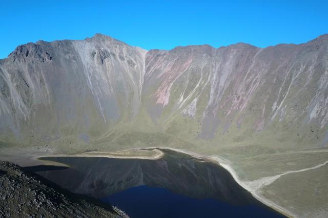 Nevado de Toluca, Volcano crater