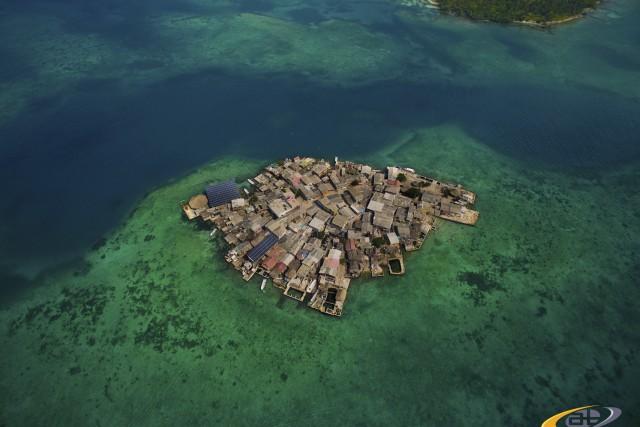 Most polulated island on earth