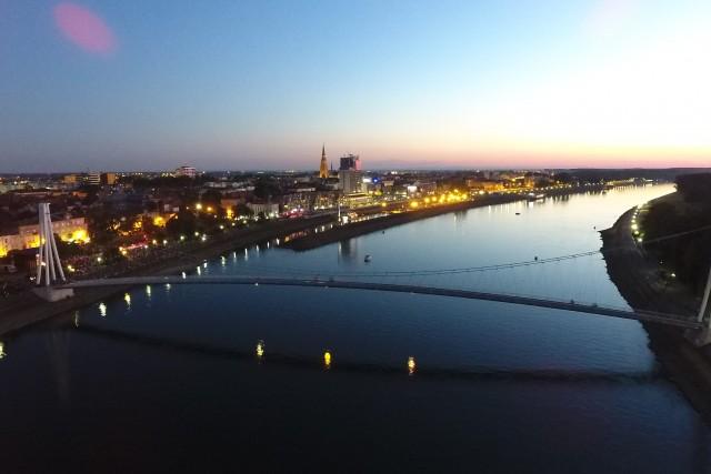 Osijek from air