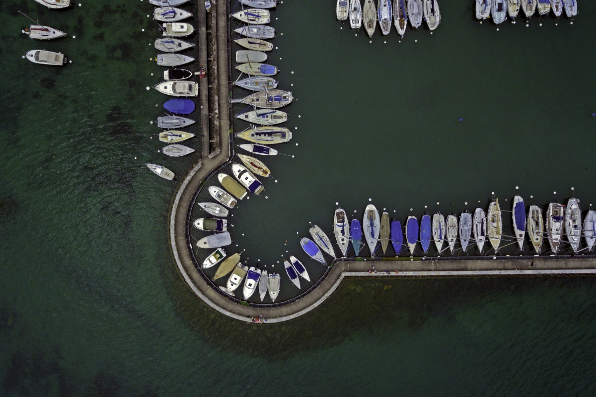 Versoix Harbour on Lake Geneva