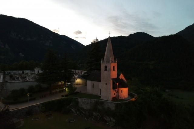 Chiesa di S. Ippolito Castello Tesino (TN) Italy