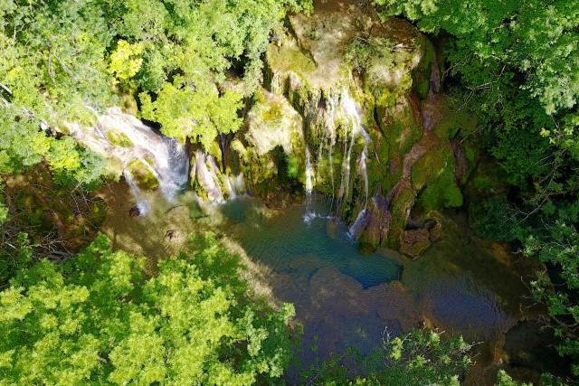 Cascade des Tufs, Arbois, France