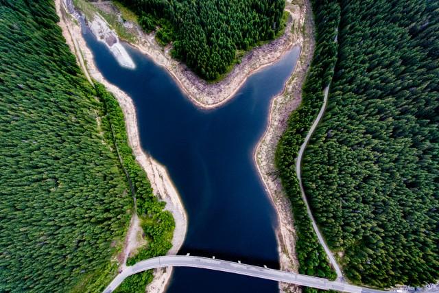 Lake Oasa, Transylvania, Romania