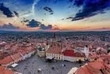 Sunset in Sibiu