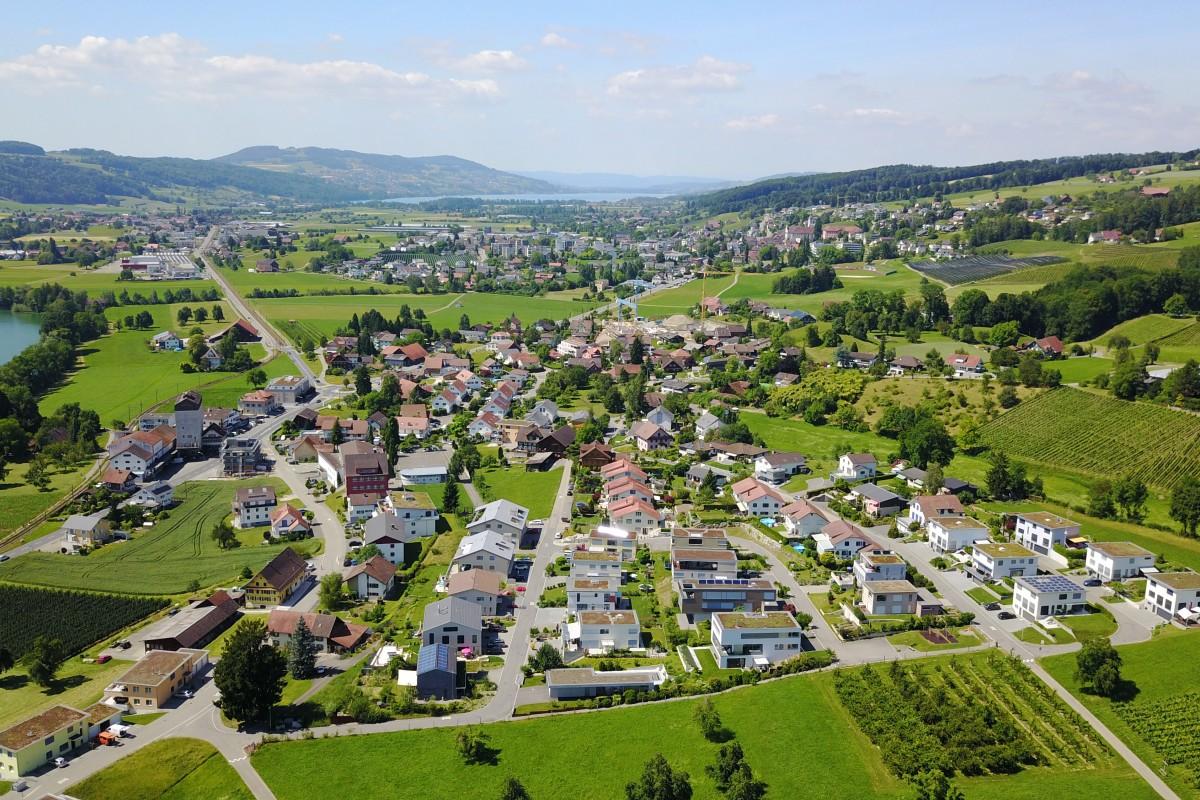 (Down Town) Gelfingen (City), Switzerland