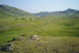 Meditation on hills