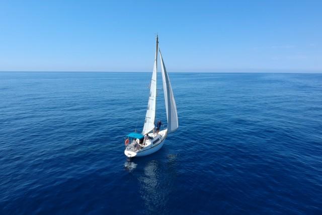 Sailboat, Arenys de Mar, Catalonia, Spain